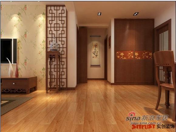中式 二居 客厅图片来自用户1907658205在通州区杨庄中式风格打造老两口幸福的家81的分享