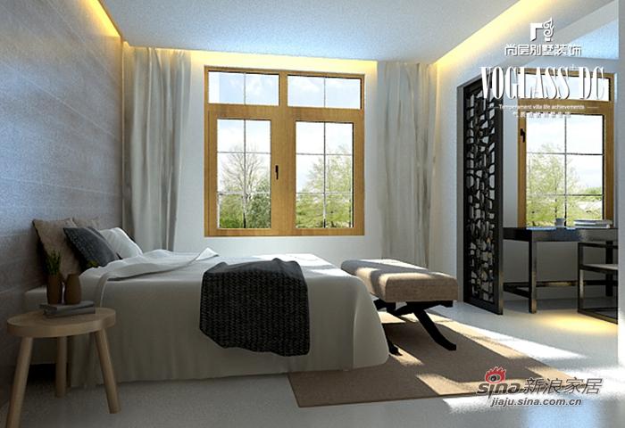简约 别墅 卧室图片来自用户2739153147在简约保利西山林语60的分享
