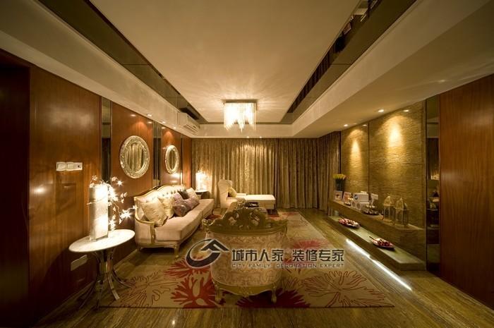 现代 三居 客厅图片来自城市人家犀犀在160平雅致主义23的分享
