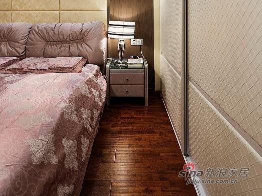 新古典 一居 卧室图片来自用户1907664341在9万装70平新古典时尚新家88的分享