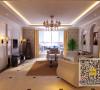 140平三居室简欧风格装修设计案例