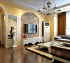 欧式风格主题让整个房间充满温馨浪漫的色彩