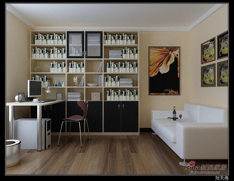 简约 二居 书房图片来自用户2739153147在现代简约设计88的分享