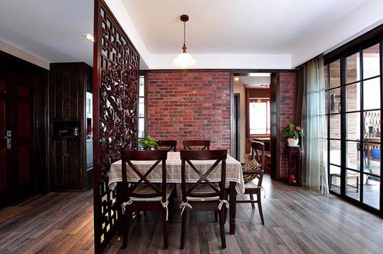 混搭 三居 餐厅图片来自用户1907655435在8.8万混搭120平现代三居室49的分享