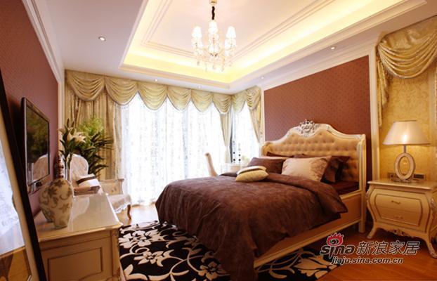 欧式 二居 卧室图片来自用户2746869241在7.8万低调奢华2居欧式爱家29的分享