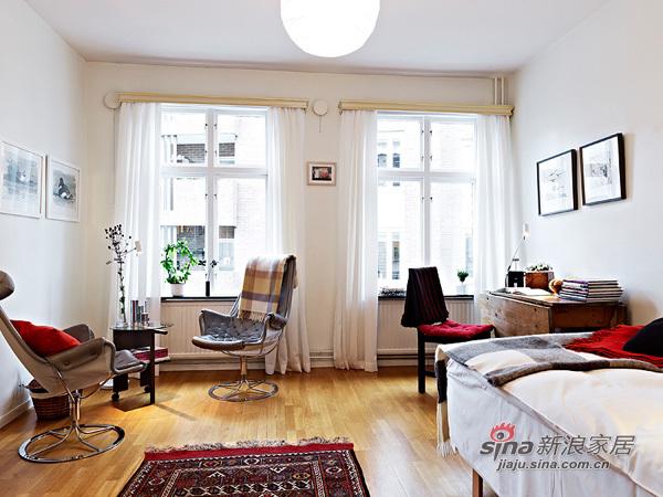 简约 一居 客厅图片来自用户2739081033在阳光女孩4万装扮31平单身公寓47的分享