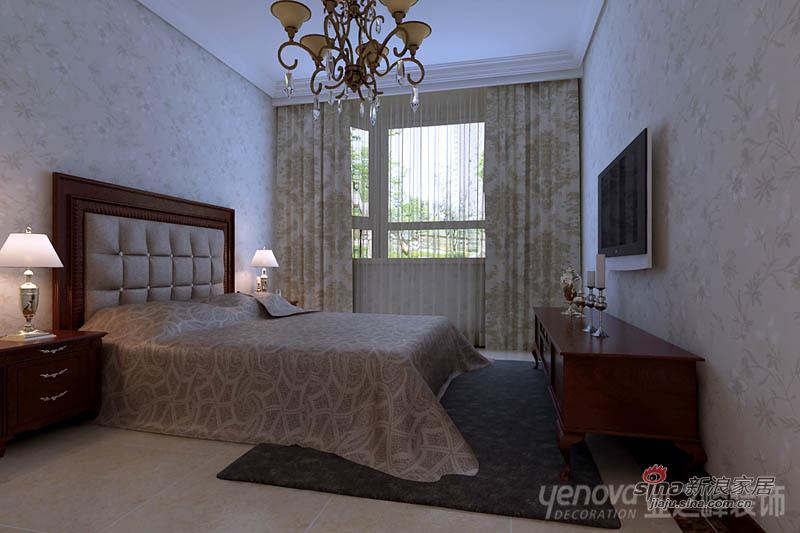 欧式 别墅 卧室图片来自用户2746889121在【多图】简欧风格别墅-梦的港湾85的分享