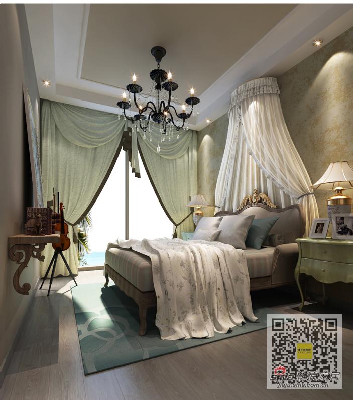 简约 三居 卧室图片来自用户2557010253在尚城国际现代简约三居室99的分享