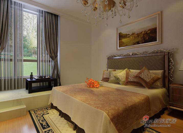 简约 三居 卧室图片来自用户2738829145在沈阳实创装饰93的分享