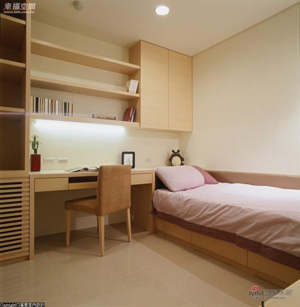 床座、阅读区、收纳及展示空间作延续的规划