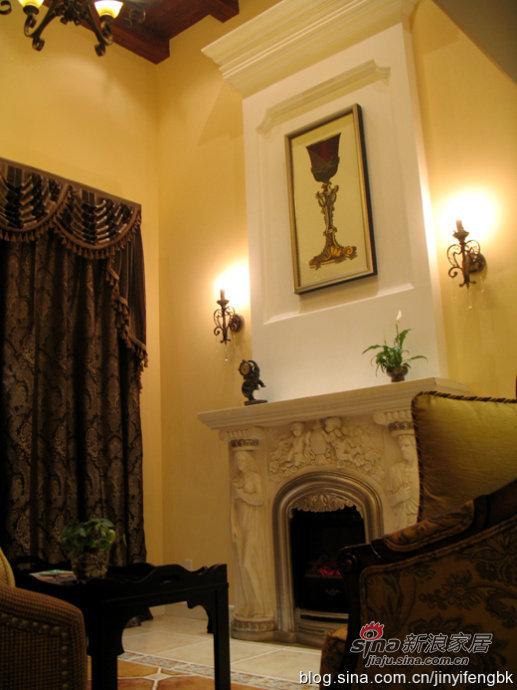 田园 复式 客厅图片来自用户2737946093在鸢尾乡旅风情复式家居15的分享