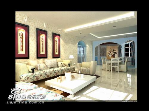欧式 三居 客厅图片来自用户2557013183在柳荷鑫苑70的分享