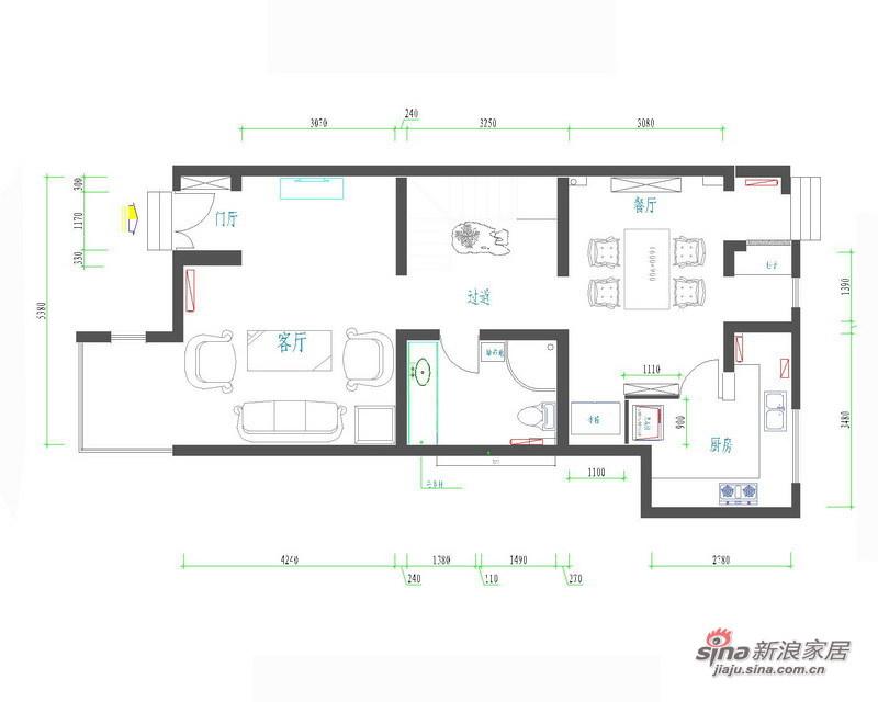 欧式 别墅 客厅图片来自用户2772873991在高贵雅致古典欧式别墅设计49的分享