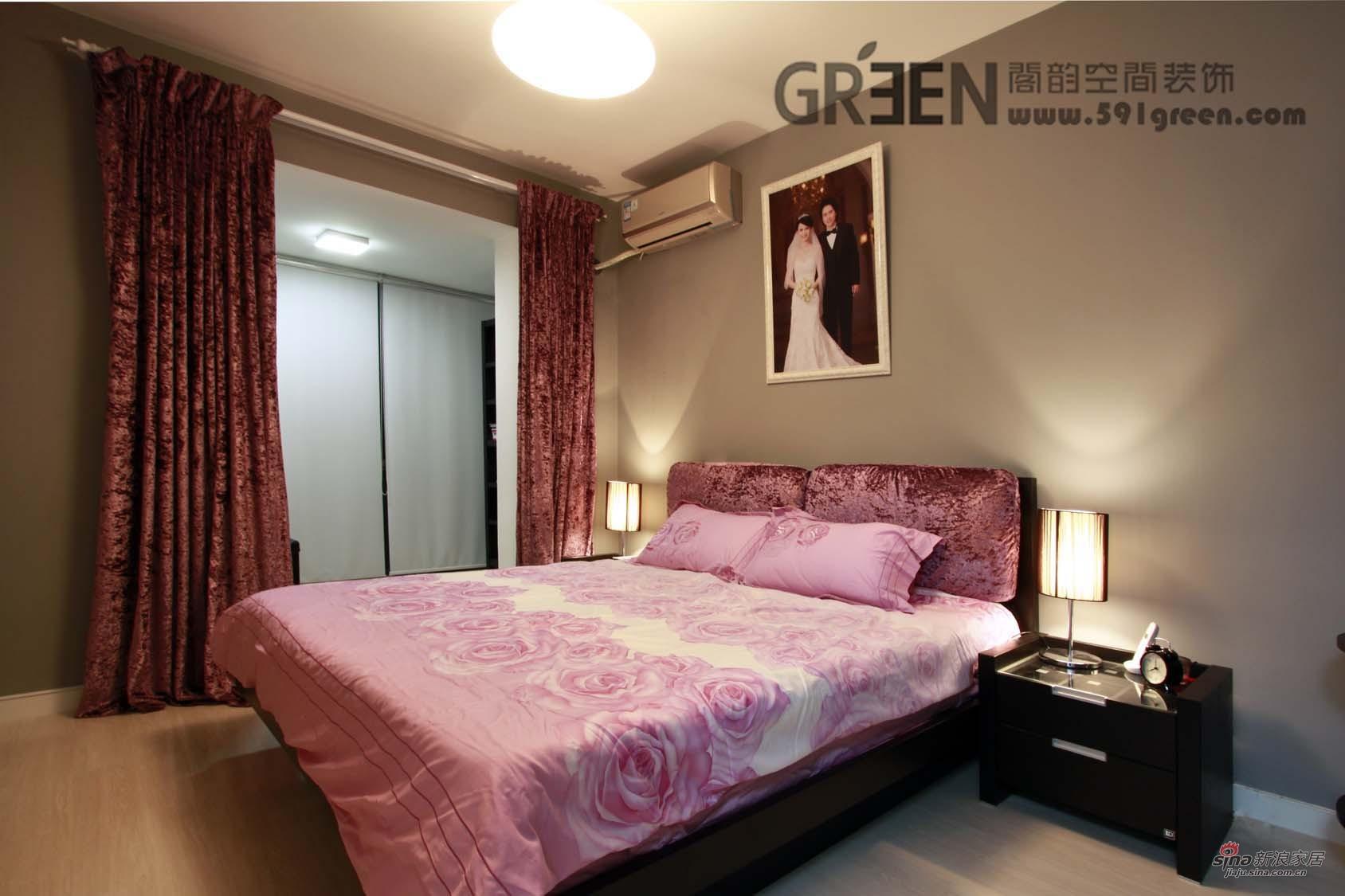 简约 二居 客厅图片来自阁韵空间装饰在浓情可可25的分享