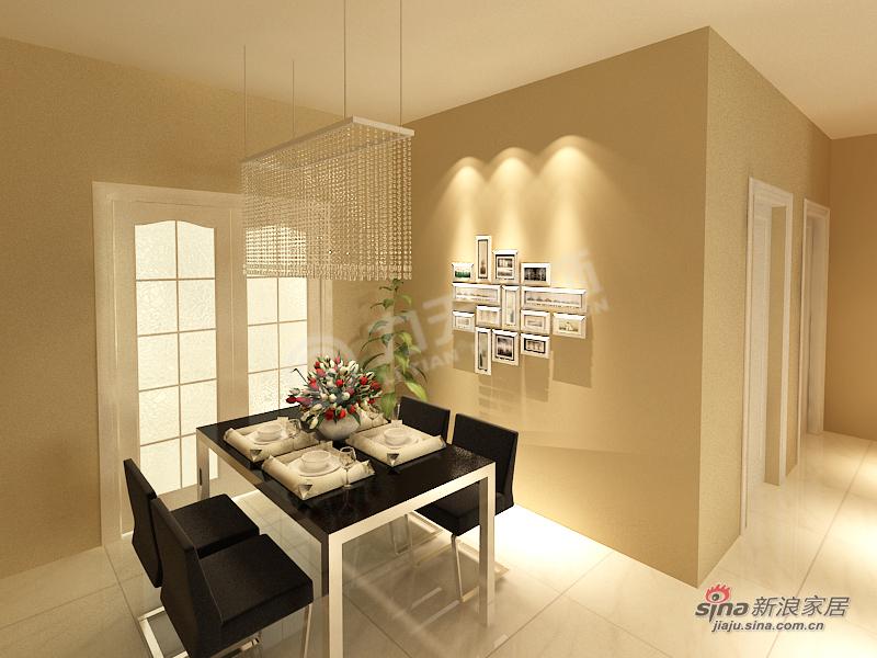 简约 三居 餐厅图片来自阳光力天装饰在泽信·金汇湾-3室2厅1卫-现代简约37的分享