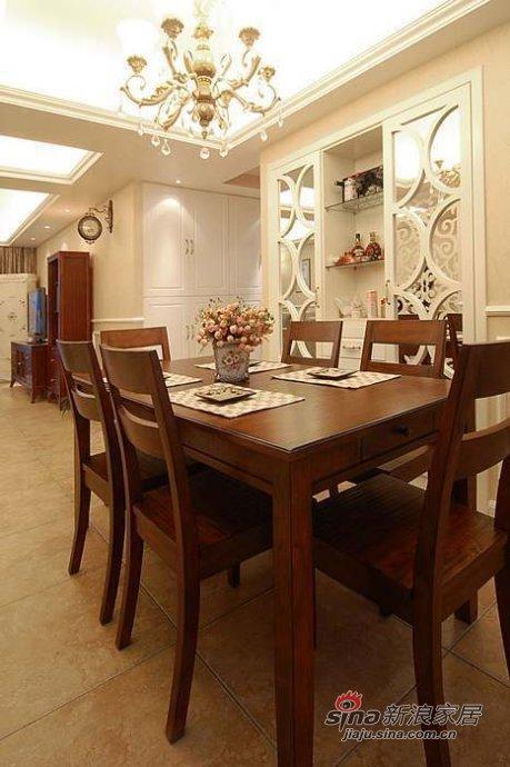 欧式 三居 餐厅图片来自用户2757317061在【多图】简欧风情美家66的分享