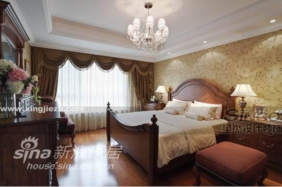 欧式 复式 卧室图片来自用户2746869241在舒适奢华不俗气  IT精英的美式家30的分享