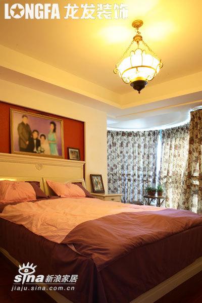 欧式 四居 卧室图片来自用户2746948411在简约欧式之四室两厅78的分享