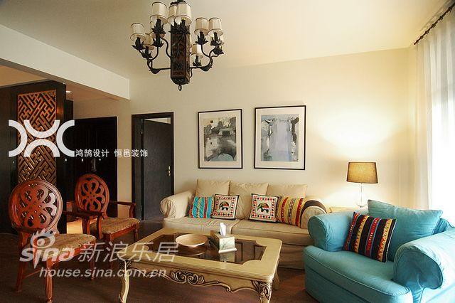 简约 别墅 客厅图片来自用户2557010253在铭品装饰设计——简约87的分享