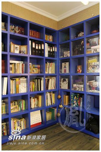 简约 四居 书房图片来自用户2737735823在惊艳蓝色二71的分享