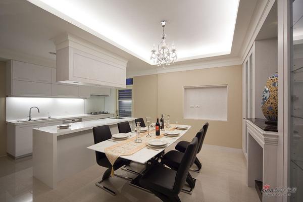 新古典 三居 餐厅图片来自用户1907701233在7.1万打造120都市雅典轻古典家居20的分享