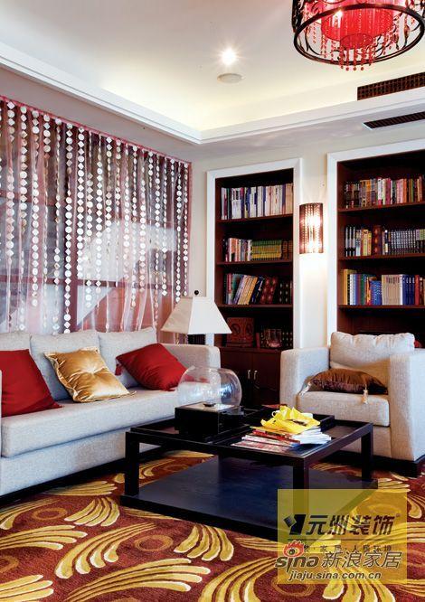 混搭 别墅 书房图片来自用户1907691673在艳丽的视觉75的分享