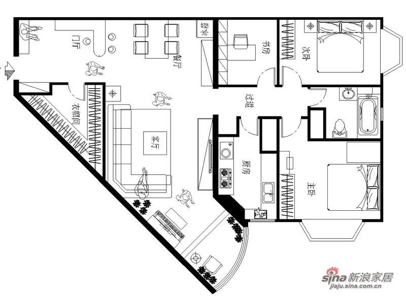 简约 三居 其他图片来自用户2737786973在职场白领8万改造125平老房简洁明快宜居78的分享