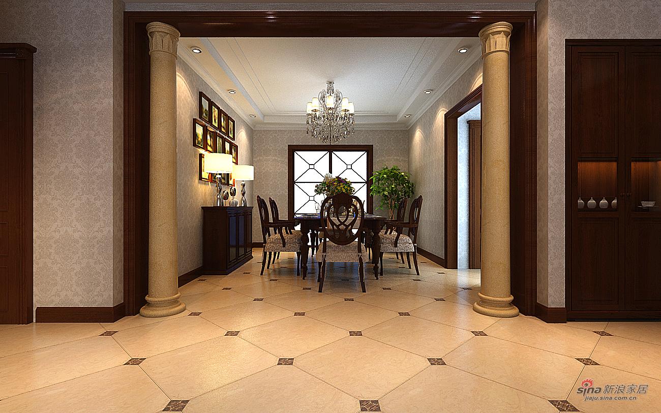 欧式 四居 餐厅图片来自用户2772873991在欧式低调奢华四居室组图89的分享