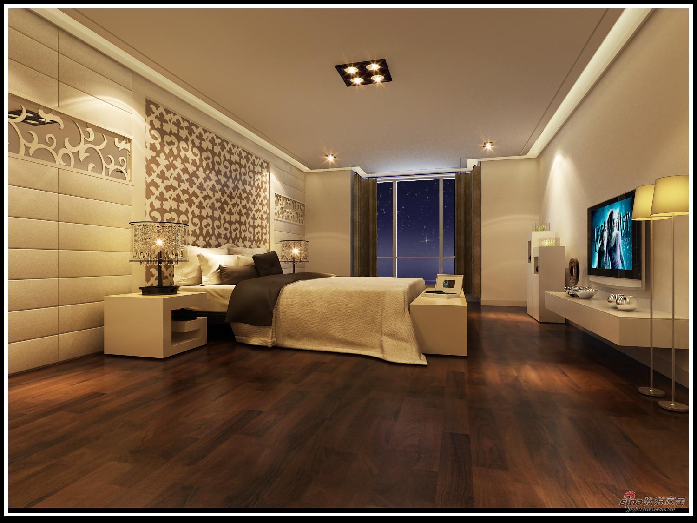 简约 别墅 卧室图片来自用户2739081033在复式大别墅38的分享
