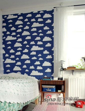 北欧 二居 卧室图片来自用户1903515612在21万打造瑞士小镇的2室1厅33的分享