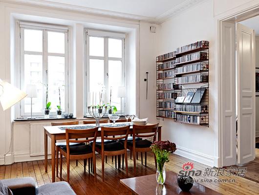北欧 一居 餐厅图片来自用户1903515612在80后小夫妻85平北欧风简约温馨家39的分享