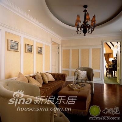 欧式 别墅 客厅图片来自用户2745758987在情迷曼哈顿89的分享