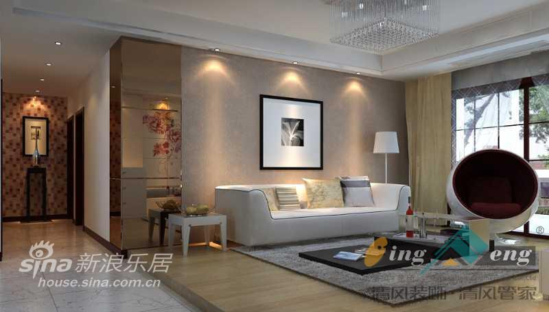 其他 别墅 客厅图片来自用户2558757937在苏州清风装饰设计师案例赏析2886的分享