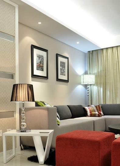 简约 二居 客厅图片来自用户2738829145在11万打造北漂98平白色简约两居31的分享