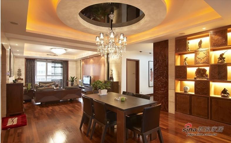 中式 三居 客厅图片来自用户1907658205在【高清】9万营造107平新中式儒雅居29的分享