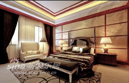 中式 别墅 卧室图片来自用户2740483635在御翠园43的分享