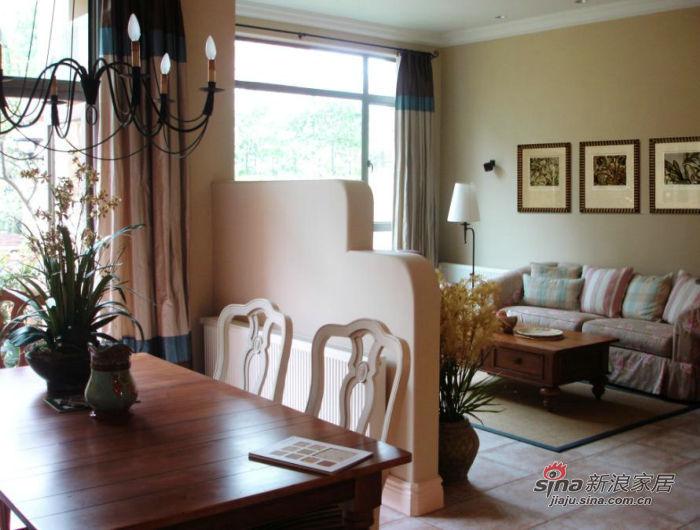 美式 三居 客厅图片来自用户1907686233在8.8万装182平美式家85的分享