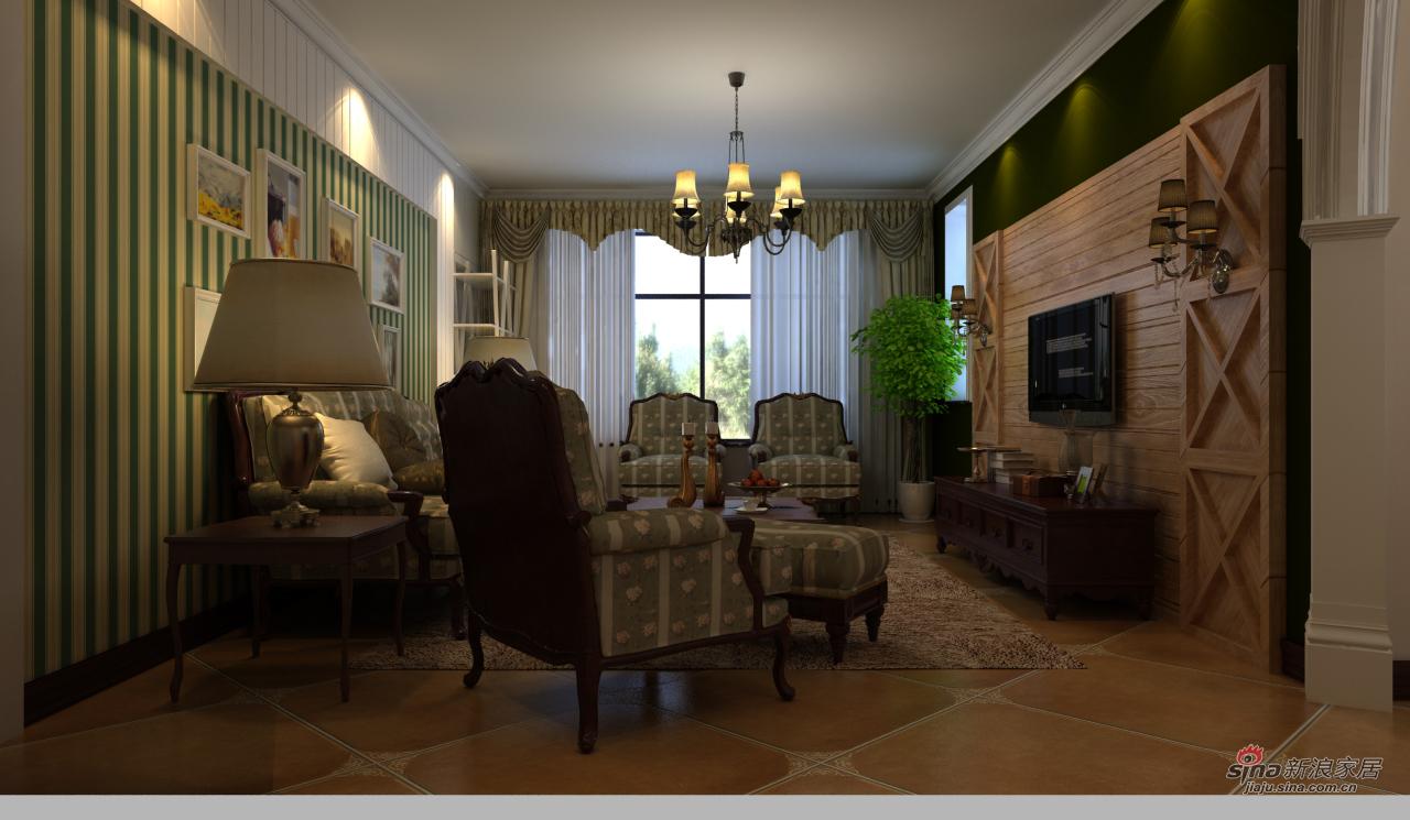 地中海 三居 客厅图片来自用户2756243717在地中海田园风64的分享