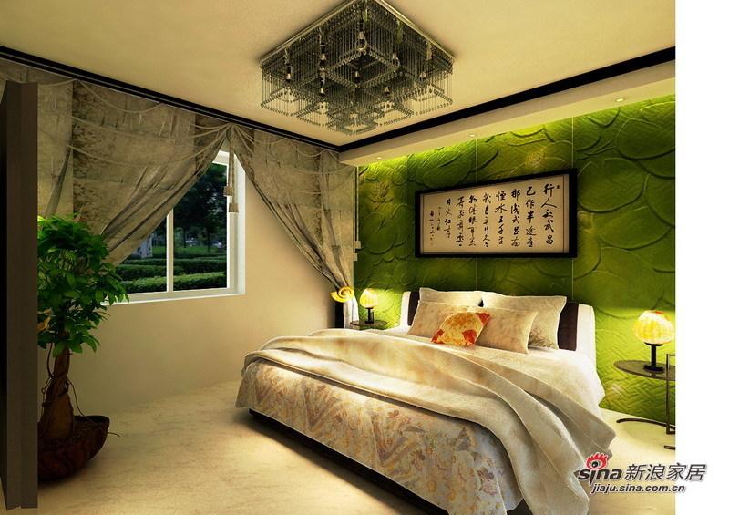 简约 二居 卧室图片来自用户2738845145在8.5万铸造简约奢华的三居室54的分享