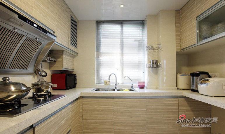 简约 三居 厨房图片来自装修微日记在【高清】12万打造89平简约淡雅三居室79的分享