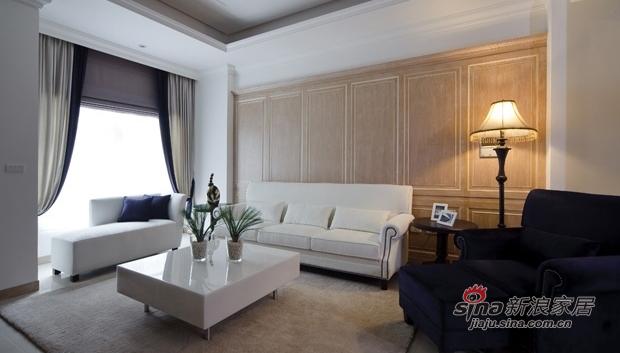 美式 三居 客厅图片来自佰辰生活装饰在9万打造137平美式时尚婚房51的分享