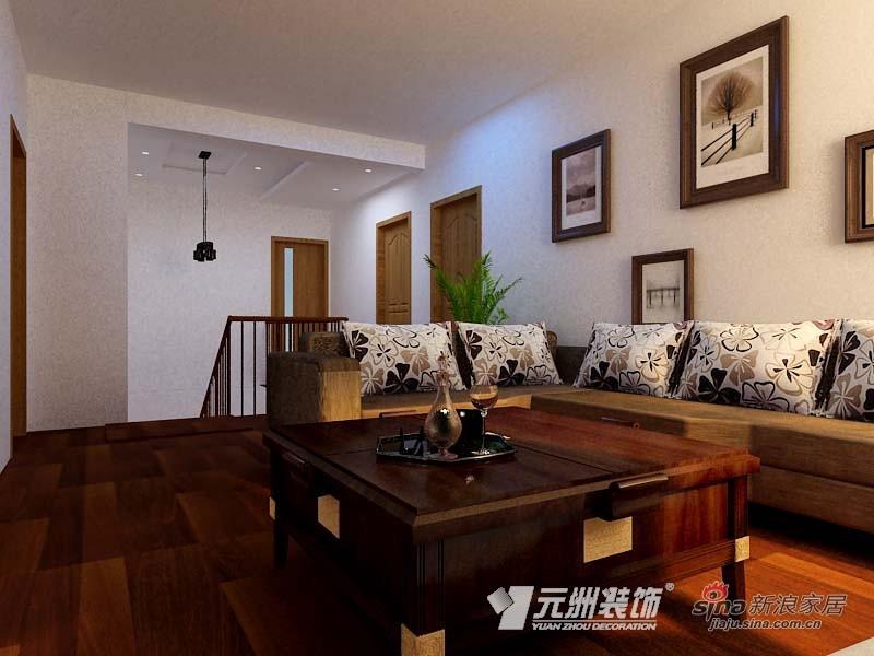 混搭 别墅 客厅图片来自用户1907689327在【多图】200平米小别墅混搭美家91的分享