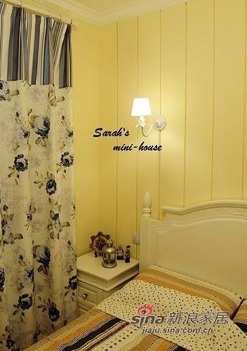 田园 一居 卧室图片来自用户2737791853在我心心念念の28平田园翻新老房19的分享