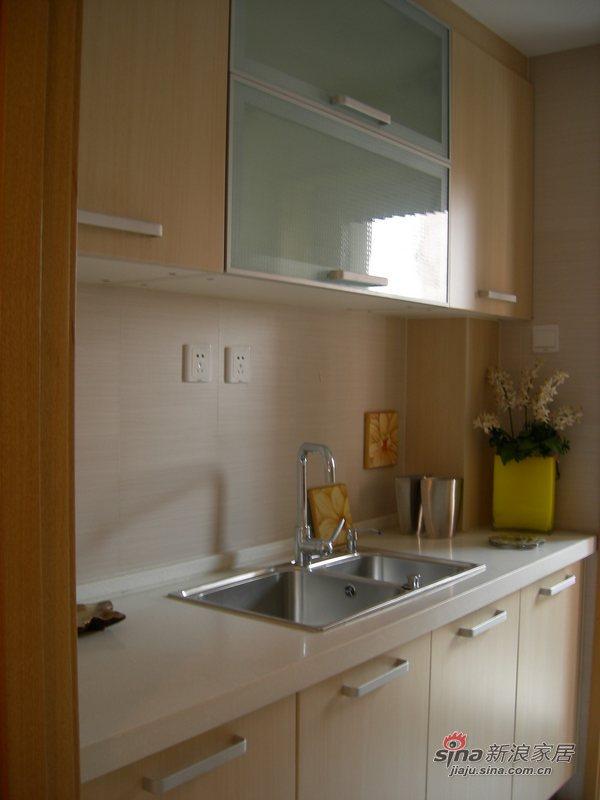 简约 二居 厨房图片来自用户2739378857在细节连贯整体不俗两居87的分享