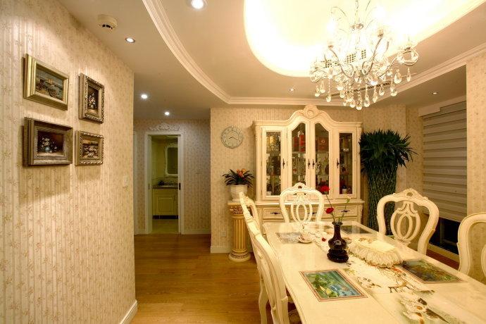 欧式 三居 餐厅图片来自用户2746953981在13万打造80后夫妻145平精致奢华三居39的分享