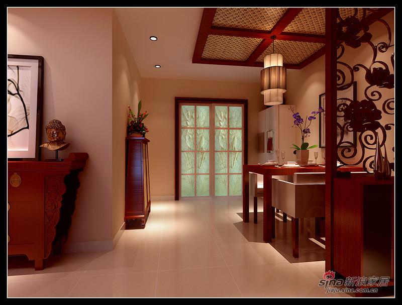 简约 一居 餐厅图片来自用户2738845145在9万打造130平现代中式三居室98的分享