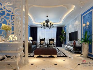 低调的小奢华打造保利心语四居室欧式风格48