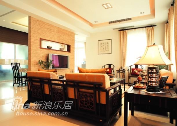 中式 三居 客厅图片来自用户2757926655在呈现传统文化内涵41的分享