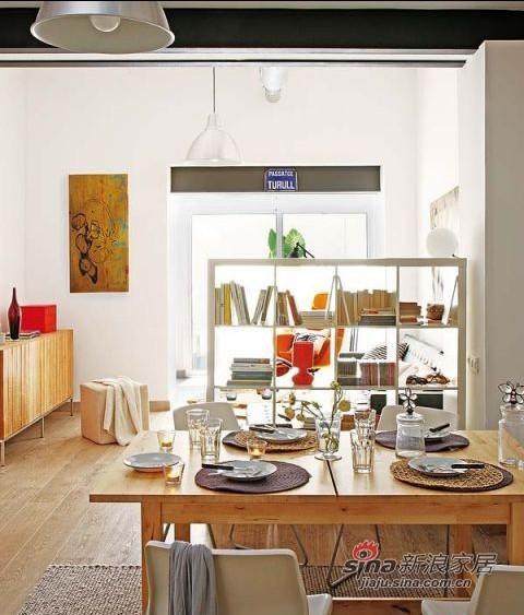 简约 一居 餐厅图片来自用户2558728947在5W巧装67平LOFT原木简约家83的分享