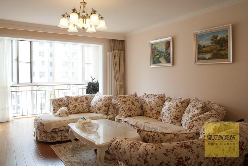 田园 三居 客厅图片来自用户2737946093在3.5万打造110平舒适田园风83的分享